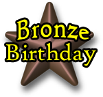 Bronze Birthday Package