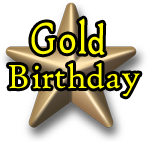 Gold Birthday Package