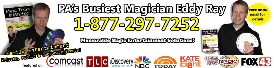 PA's #1 Magician For Kids Parties & Events!